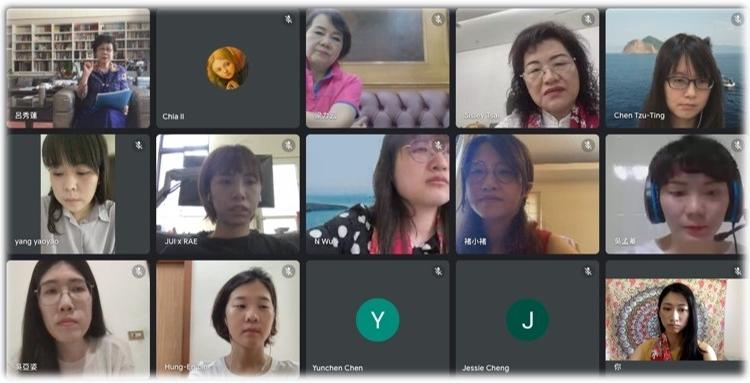 呂秀蓮創會理事長、何淑子台灣總會長與桃園青年會成員交流、分享BPW Taiwan當年創立精神與國際發展